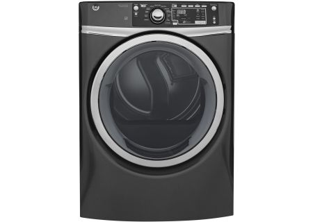 GE Diamond Gray Gas Steam Dryer - GFD48GSPKDG