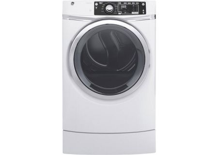 GE - GFD49ERSKWW - Electric Dryers