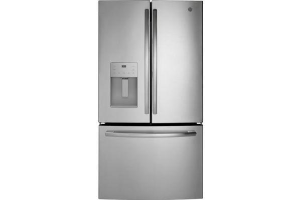 GE 25.6 Cu.Ft. Stainless Steel French Door Refrigerator - GFE26JSMSS