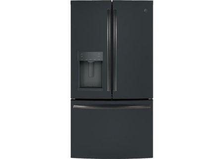 GE Black Slate French-Door Refrigerator - GFE28GELDS
