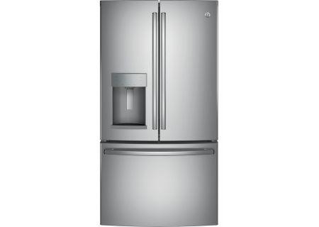 GE 27.8 Cu. Ft. Stainless Steel French Door Refrigerator - GFE28HSKSS
