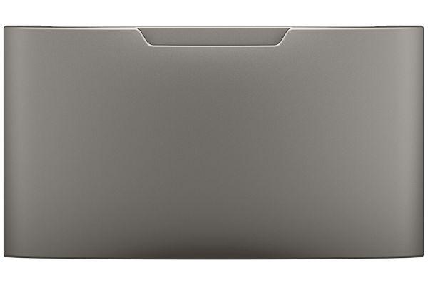 Large image of GE Satin Nickel Washer Or Dryer Pedestal - GFP1528PNSN