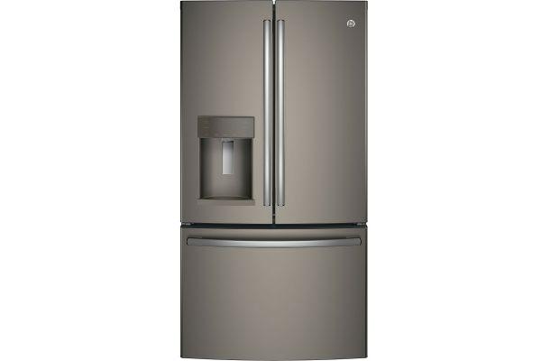 Large image of GE 25.8 Cu. Ft. Fingerprint Resistant Slate French Door Refrigerator - GFS26GMNES