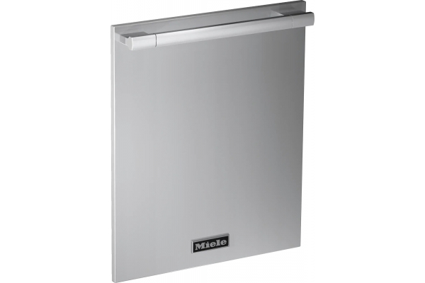 """Large image of Miele 24"""" Clean Touch Steel Door Panel With Ranges Handle - 11558110"""