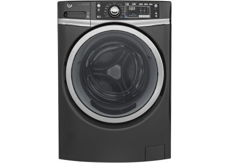 GE Diamond Gray Front Load Steam Washer - GFW480SPKDG
