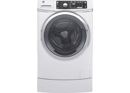 GE - GFW490RSKWW - Front Load Washing Machines