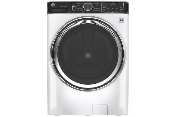 Large image of GE 5.0 Cu. Ft. Capacity White Smart Front Load ENERGY STAR Steam Washer With SmartDispense UltraFresh Vent System With OdorBlock - GFW850SSNWW