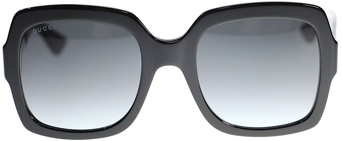 ab6e24f86ea Gucci Black Oversized Square-Frame Womens Sunglasses - GG0036S 001 54