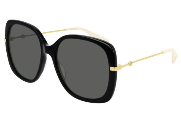 Large image of Gucci Black Oversize Square-Frame Womens Sunglasses - GG0511S-001