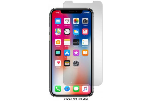 Gadget Guard Apple iPhone X Black Ice Tempered Glass Screen Protector - GGBIXXC208AP01A