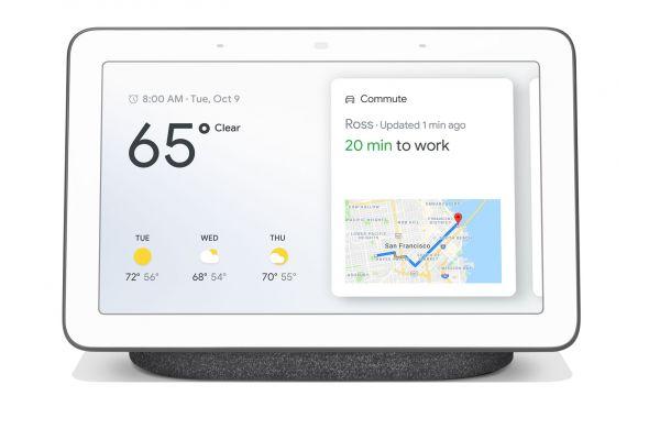 Google Charcoal Home Hub - GGL-GA00515-US