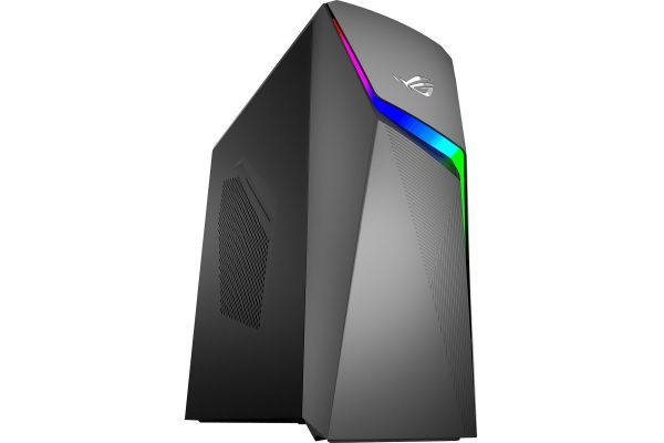 Asus ROG Strix Iron Gray Gaming Desktop Intel Core i7-9700K 16GB RAM 512GB SSD, NVIDIA GeForce GTX 1660 Ti Graphics - GL10CS-DB762