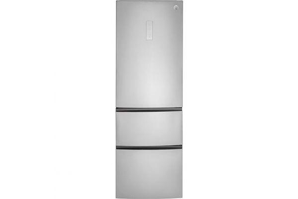 GE 11.9 Cu. Ft. Stainless Steel Bottom-Freezer Refrigerator - GLE12HSLSS