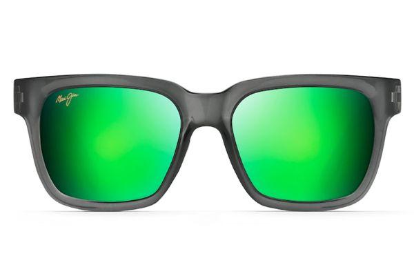 Large image of Maui Jim Mongoose Translucent Grey Polarized Classic Sunglasses - GM540-11