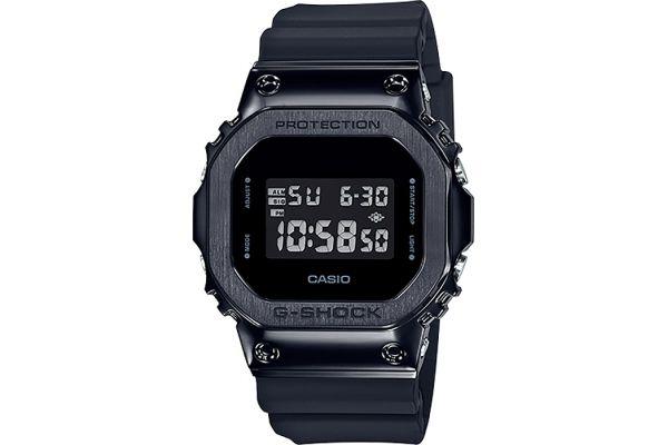 Large image of G-Shock Digital Resin Metal With Black Bezel Band Mens Watch - GM5600B-1