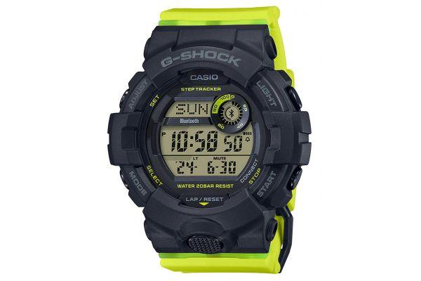 Large image of G-Shock Resin Black Womens Analog-Digital Watch - GMDB800SC-1B