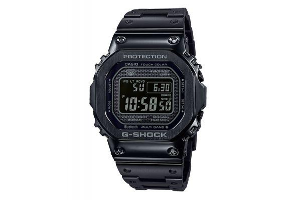 Large image of G-Shock Black Digital Mens Watch - GMW-B5000GD-1CR