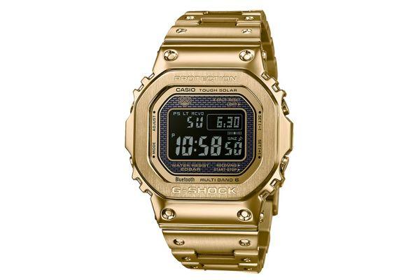 Large image of G-Shock Gold Digital Mens Watch - GMW-B5000GD-9CR