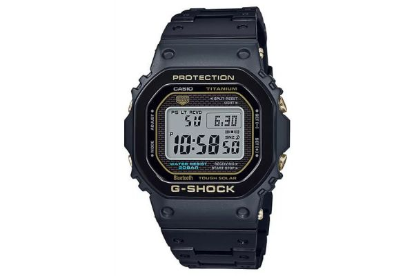 Large image of G-Shock Titanium Black Mens Watch - GMWB5000TB-1