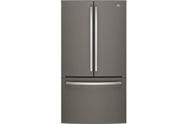 GE 27 Cu.Ft. Slate French Door Refrigerator - GNE27JMMES