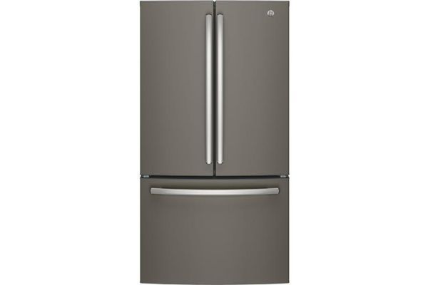 Large image of GE ENERGY STAR 27 Cu. Ft. Slate French-Door Refrigerator - GNE27JMMES