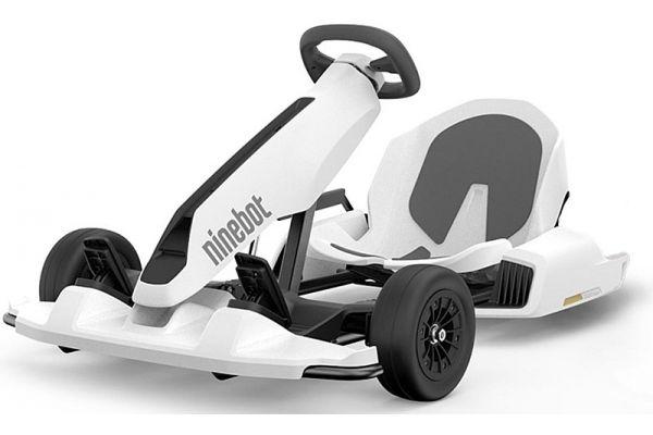 Large image of Segway Ninebot S Gokart Conversion Kit White - GOKARTKIT