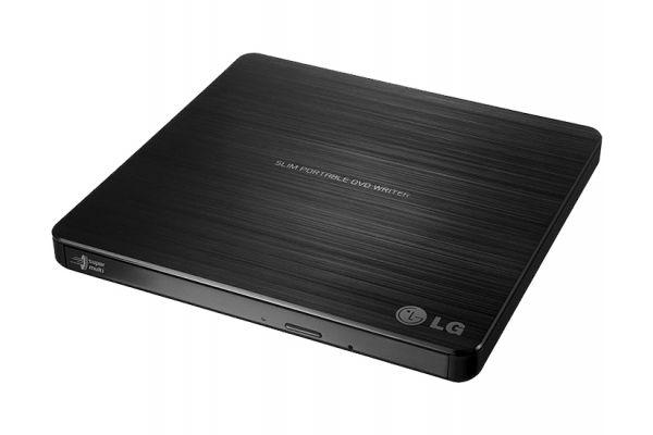 Large image of LG Black Super-Multi Portable DVD Rewriter With M-DISC - GP60NB50