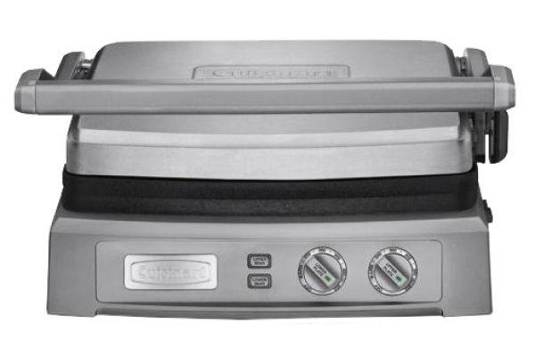 Large image of Cuisinart Stainless Steel Griddler Deluxe - GR150P1