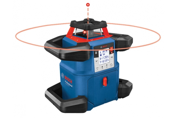 Large image of Bosch Tools 18V REVOLVE4000 Connected Self-Leveling Horizontal/Vertical Rotary Laser - GRL4000-80CHV