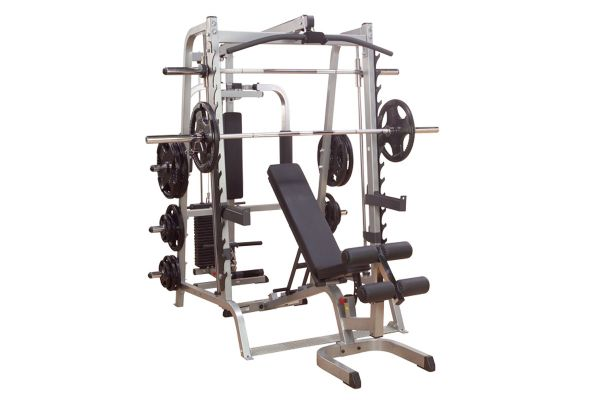 Large image of Body-Solid Series 7 Smith Machine Package System - GS348QP4