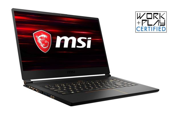 "MSI GS65 Stealth THIN-053 Matte Black 15.6"" Gaming Laptop Intel Core i7-8750H 32GB RAM 512GB NVMe SSD, NVIDIA GeForce GTX 1070 - GS65053"