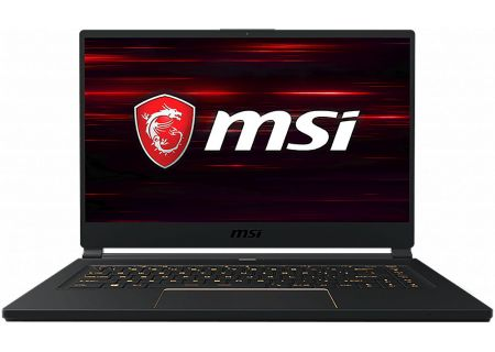 "MSI GS65 Stealth Matte Black 15.6"" Gaming Laptop Intel i7-9750H 16GB RAM 512GB SSD, NVIDIA GeForce RTX 2060 - GS65483"