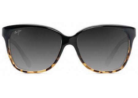 Maui Jim Starfish Black & Tortoise Polarized Womens Sunglasses - GS744-02T