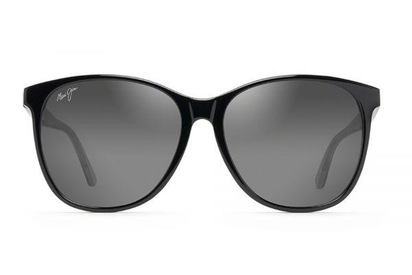 Large image of Maui Jim Isola Black Polarized Sunglasses - GS821-02L