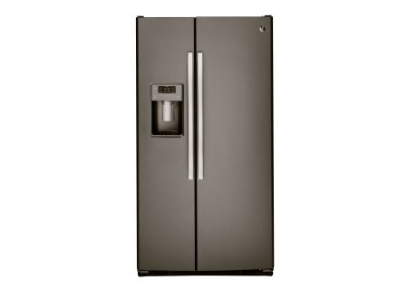 GE Slate 23.2 Cu. Ft. Side-By-Side Refrigerator - GSS23GMKES