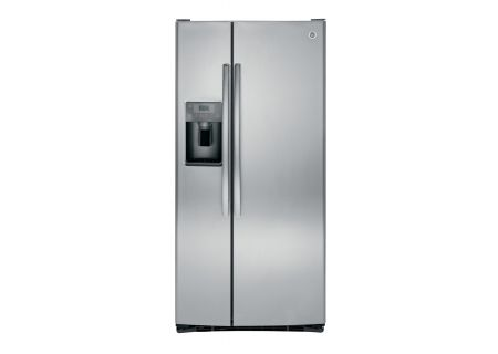 GE Stainless Steel 23.2 Cu. Ft. Side-By-Side Refrigerator - GSS23GSKSS