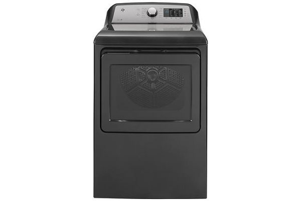 Large image of GE 7.4 Cu. Ft. Diamond Gray Electric Dryer - GTD72EBPNDG