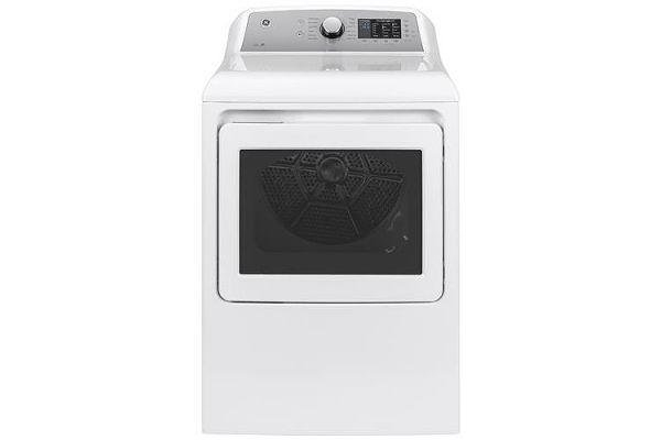 GE 7.4 Cu. Ft. White Electric Dryer - GTD72EBSNWS