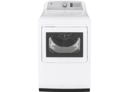 GE - GTD75ECSLWS - Electric Dryers