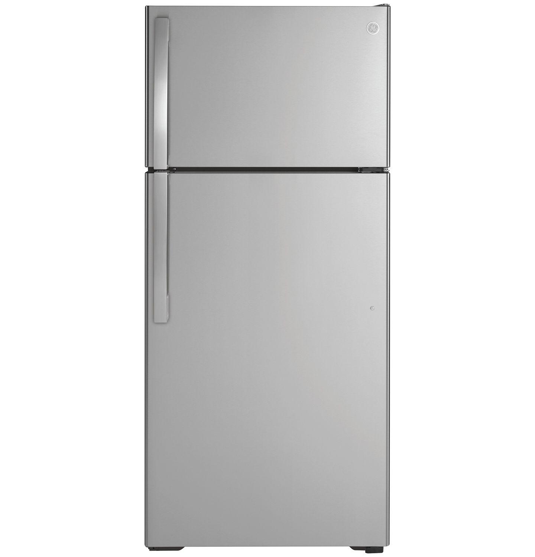 Ge 16 6 Cu Ft Top Freezer Refrigerator Gte17gsnrss