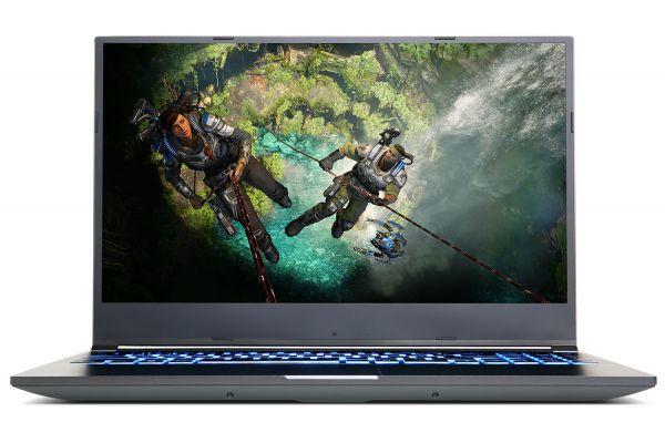 "Large image of CyberPowerPC Tracer IV R Slim 15.6"" Gaming Notebook AMD Ryzen 5 4600H 16GB RAM 500GB SSD, NVIDIA GeForce GTX 1650 Ti - GTS99810"