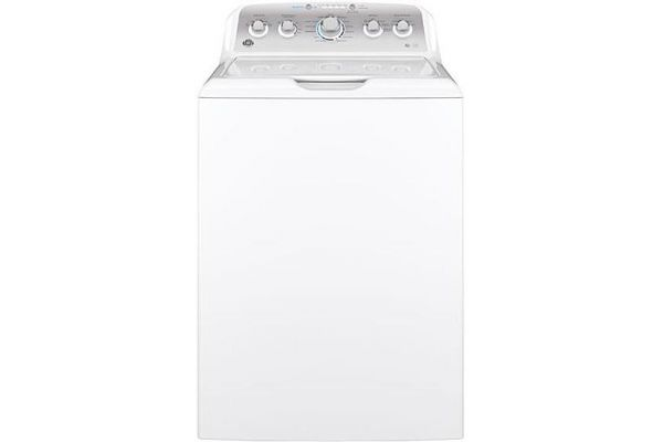 Large image of GE 4.6 Cu. Ft. White Top Loading Washer - GTW500ASNWS