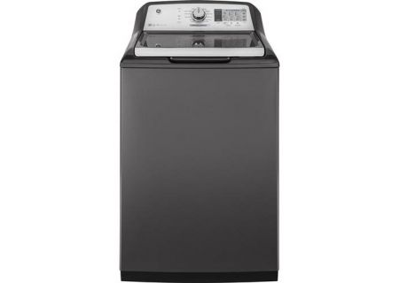 GE Grey 5.0 Cu. Ft. Top Loading Washer - GTW750CPLDG