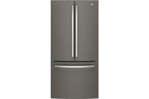 GE Slate Counter-Depth French-Door Refrigerator - GWE19JMLES