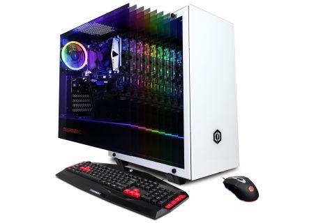CyberPowerPC Gamer Xtreme White Gaming Desktop Intel i5-9400F 8GB RAM 500GB SSD, NVIDIA GeForce GTX 1660 Ti - GXI11260CPG