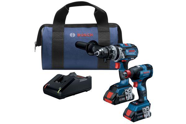 Large image of Bosch Tools 18V 2-Tool Combo Kit - GXL18V-224B25