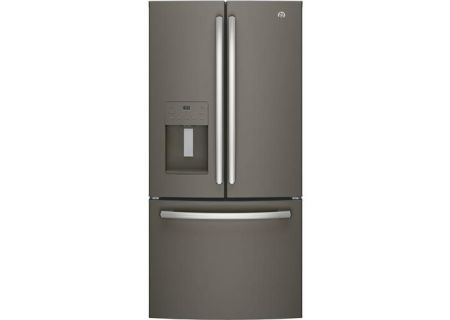 GE 17.5 Cu. Ft. Slate French Door Refrigerator - GYE18JMLES
