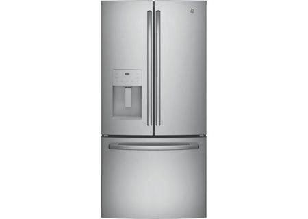 GE - GYE18JSLSS - French Door Refrigerators