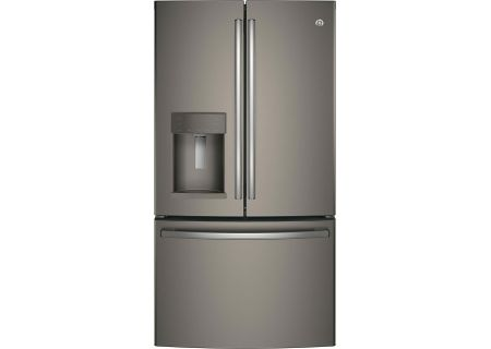 GE Slate Counter-Depth French-Door Refrigerator - GYS22GMNES