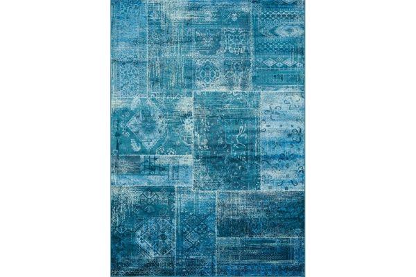 """Large image of Kalora Antika 5'7"""" X 7'10"""" Teal Rug - H290/113 170240"""